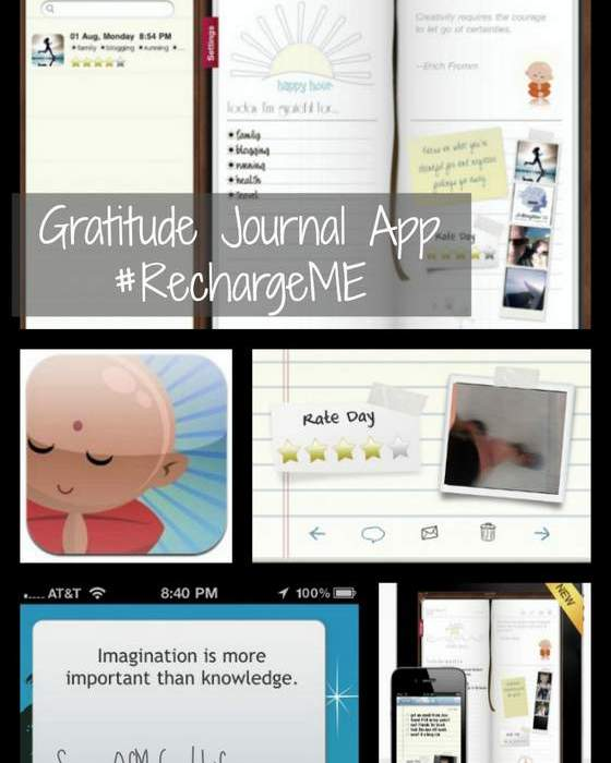 Gratitude journal app featured