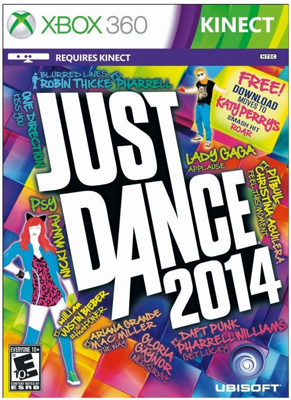 best family video games Just Dance 2014 for kinect