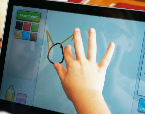 drawing games on touch and type laptop