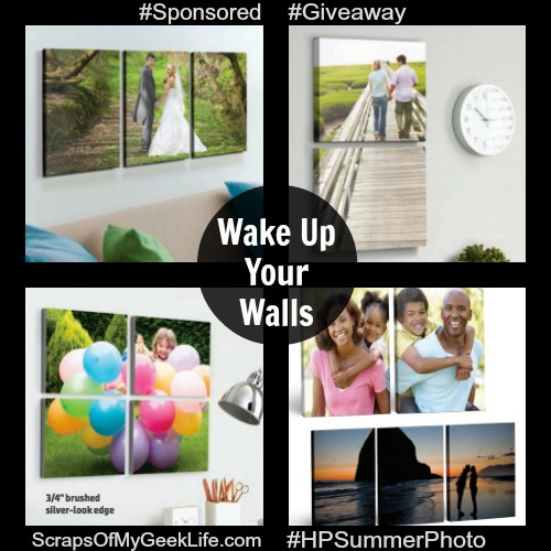 #WakeUpYourWalls HP Giveaway
