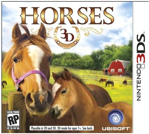 Ubisoft Horses 3D 3DS Nintendo