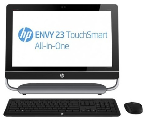 HP EVY 23 touchsmart AiO