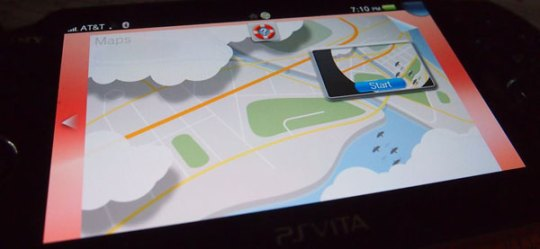 maps on ps vita