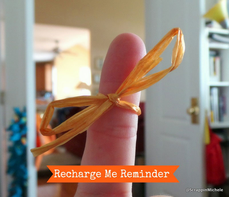 Recharge Me Reminder