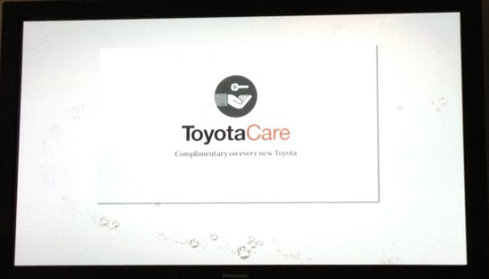 toyota commercial during modern family