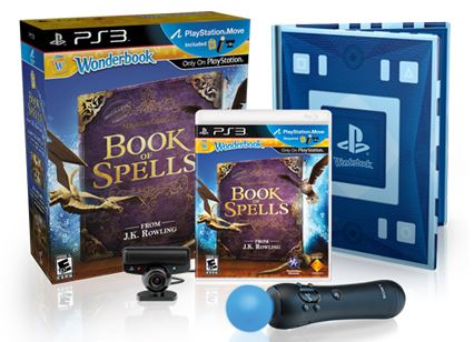 harry potter wonderbook: Book of Spells