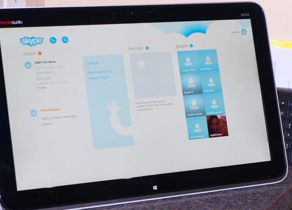 Skype to keep families connected