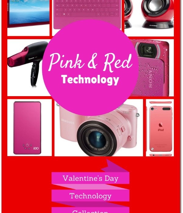 red and pink Gadgets for Valentine's Day