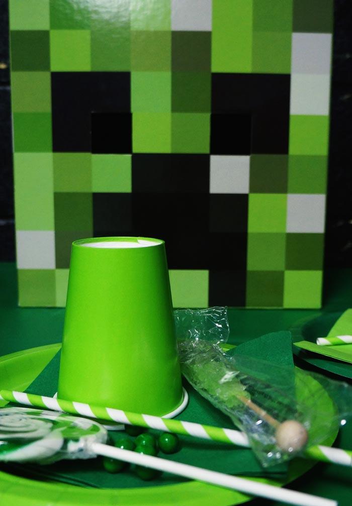 Minecraft cardboard head