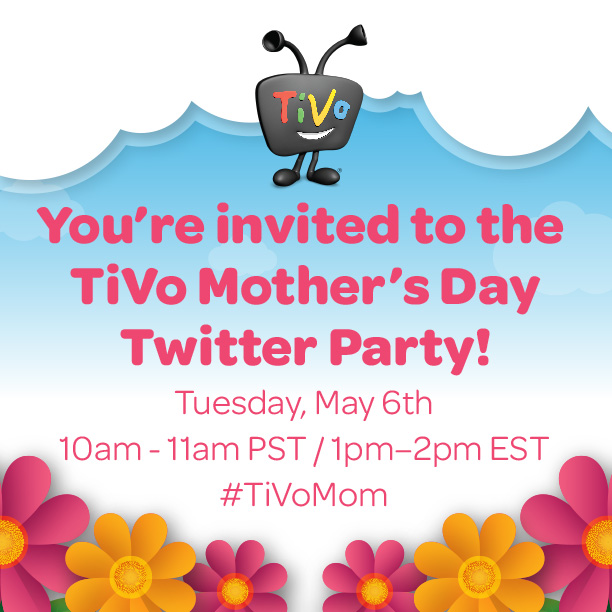 TiVo Moms Twitter Party