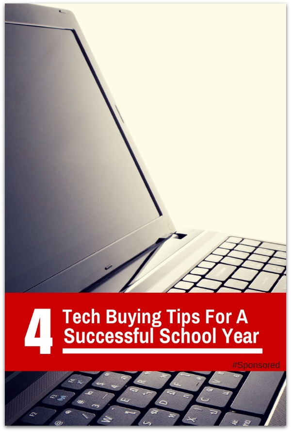4 Tech Buying Tips to Help Ensure a Successful Year for Your Student