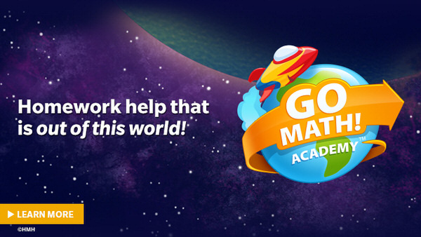 Try Go Math! Academy; online math help for kids K through 6th grade.