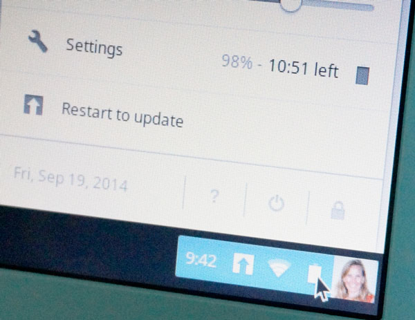 The battery life on an HP Chromebook 14 is up to 9 hours. Discounts at ShopAtHome.com