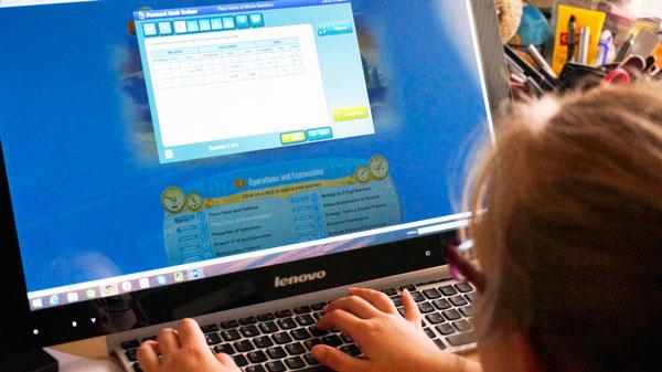 5th Grader testing Go Math! Academy, online math help for K through 6th grade.