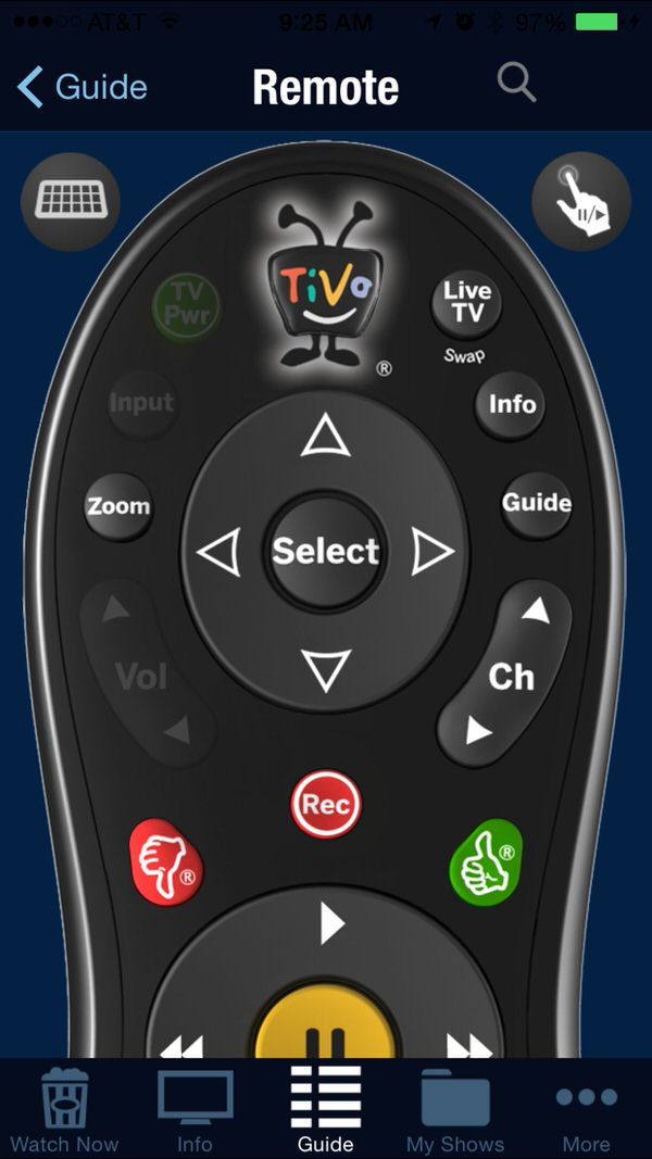 How to program your TiVo using Your iPhone #TiVoMom; TiVo remote on iPhone