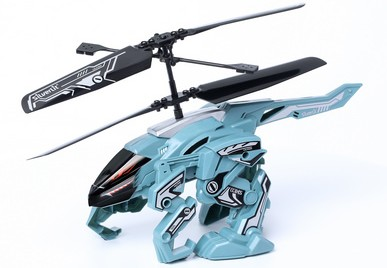 HeliBeast flies, jumps and walks with a remote control. #Giveaway