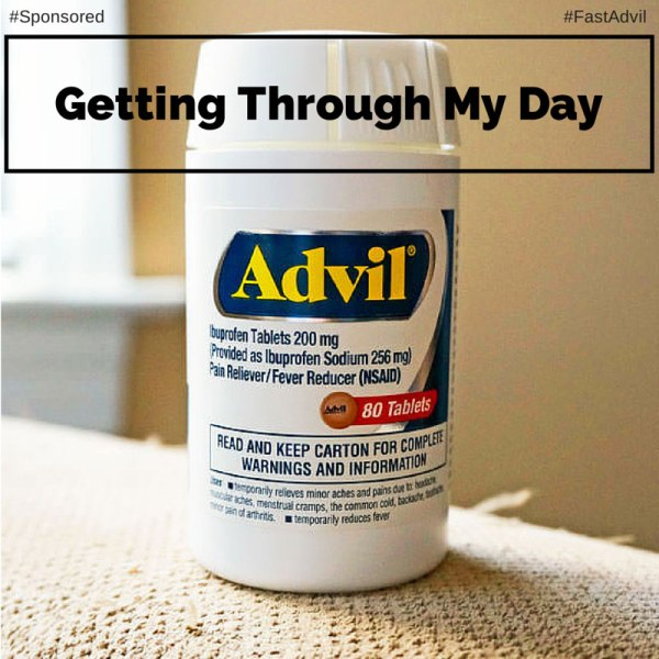 Getting Through My Day Without Thinking About My Pain #FastAdvil