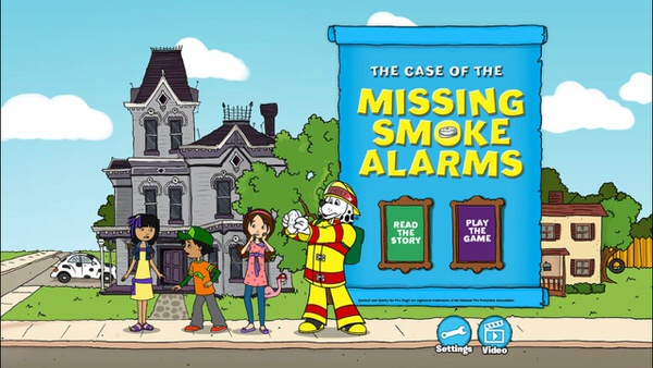 Sparky App - Case of the Missing Smoke Alarm