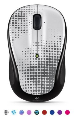 Logitech wireless color mouse for college students