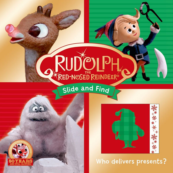 Rudolph Slide and Find book #Rudolph50