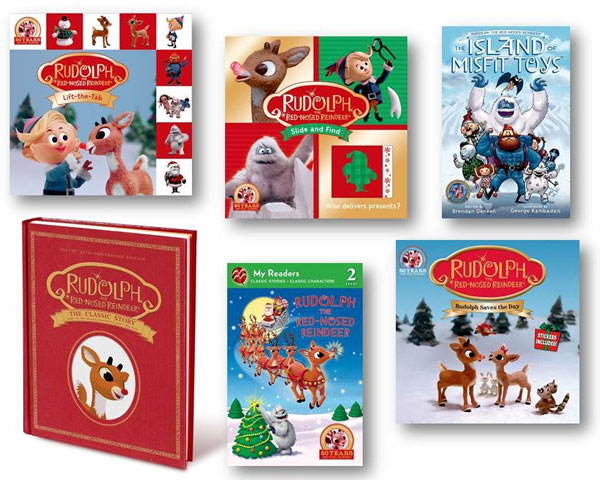 Rudolph the Red-Nosed Reindeer Giveaway #Rudolph50