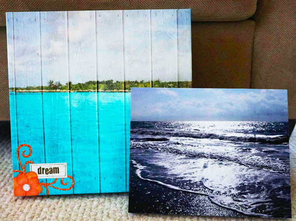 Snapfish photo canvas
