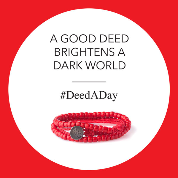 What will your #NewYearsResolution be? Why not a #DeedADay-where one small act can make a big impact. http://bit.ly/100GDdeedADay