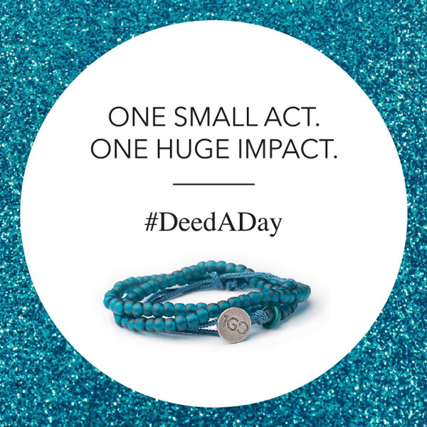 Looking forward to the New Year, we would like to share our commitment to @the100gooddeedsbracelet #DeedADay challenge with all of our past, present, and future friends. Join in: http://bit.ly/100GDdeedADay