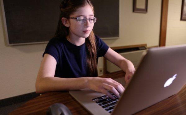 Girl-on-computer