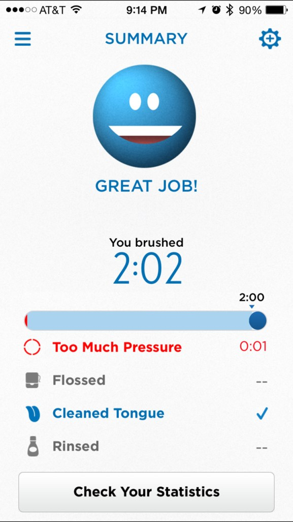 Give the gift of a beautiful smile for Mother's and Father's Day. Oral-B PRO SmartSeries Bluetooth connected electric toothbrushes. #oralb #AD Connect your toothbrush to your smartphone with an app.