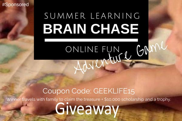 Online summer learning program, #BrainChase #Giveaway