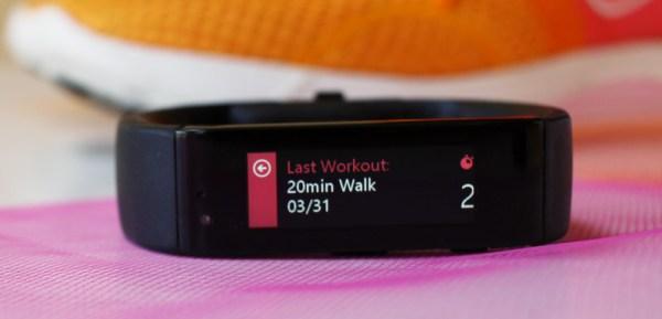 Microsoft Band and Microsoft Health track your exercise. #Microsoftblogger