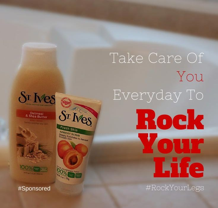 Take care of yourself everyday to Rock Your Life!! #RockYourLegs