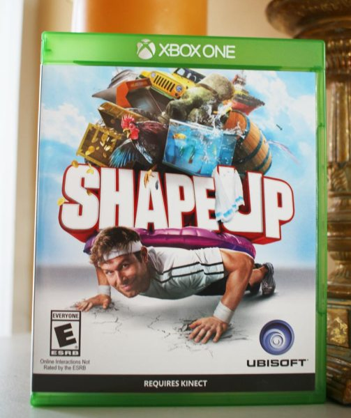 Ubisoft Shape Up for Xbox One Kinect #Ubistar #spon