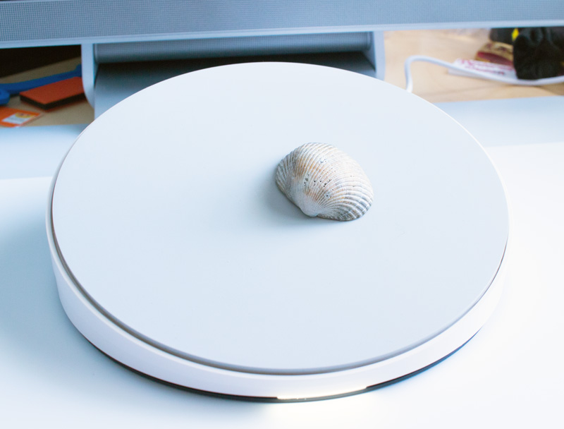 Scanning a shell 3D design