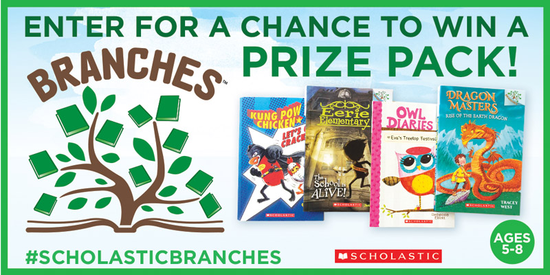 Scholastic Branches Giveaway Prize Pack of 4 Branches books #ScholasticBranches #Giveaway
