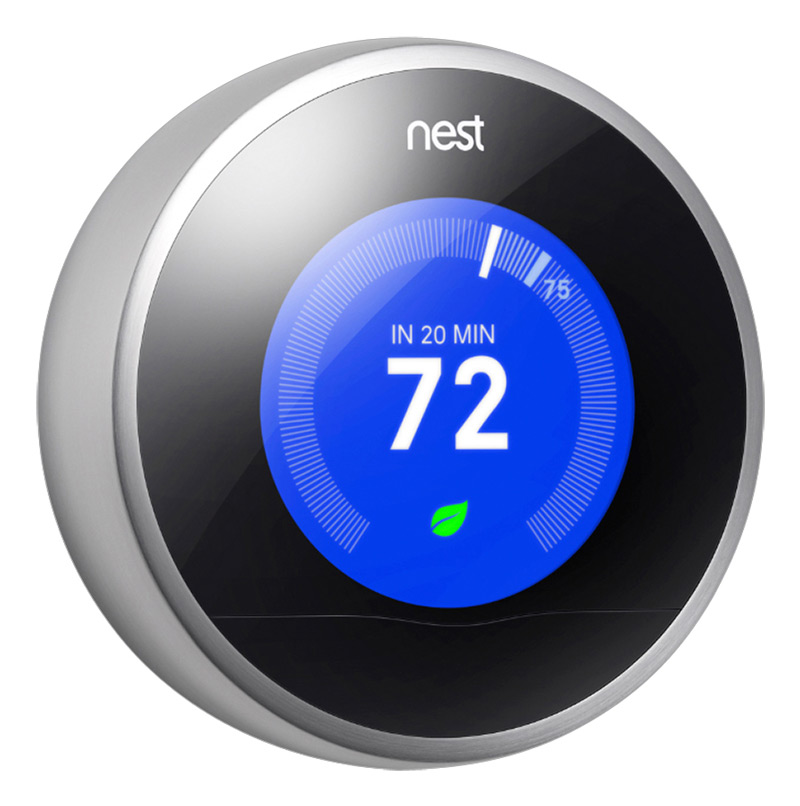 Nest Learning Thermometer keeps your connected home at the perfect temperature (and saves money.) #BBYConnectedHome #Sponsored