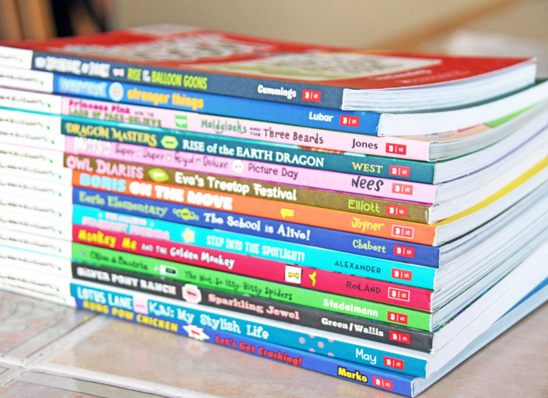 Scholastic Branches books for kids ages 5 to 8. #ScholasticBranches