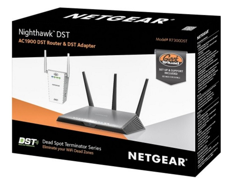 NETGEAR Nighthawk DST at Best Buy with GeekSquad Protection included #BBYConnectedHome