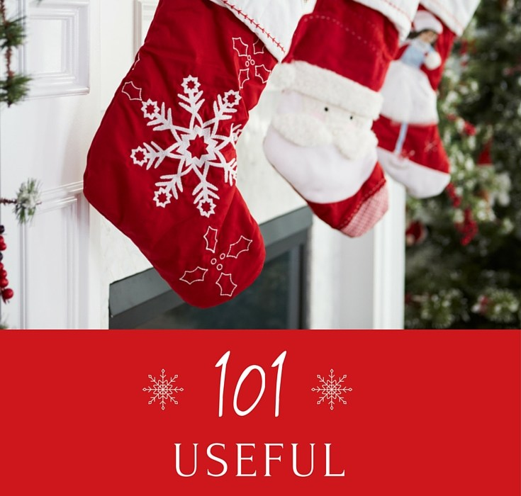 101 Useful Stocking Stuffer Ideas #GiftGuide