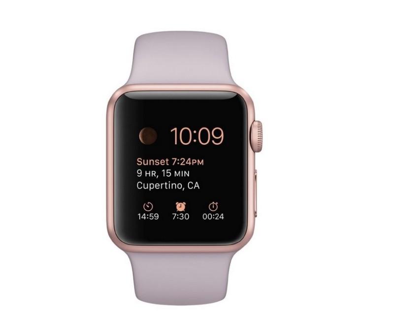 Apple Watch Sport edition; tech gift guide