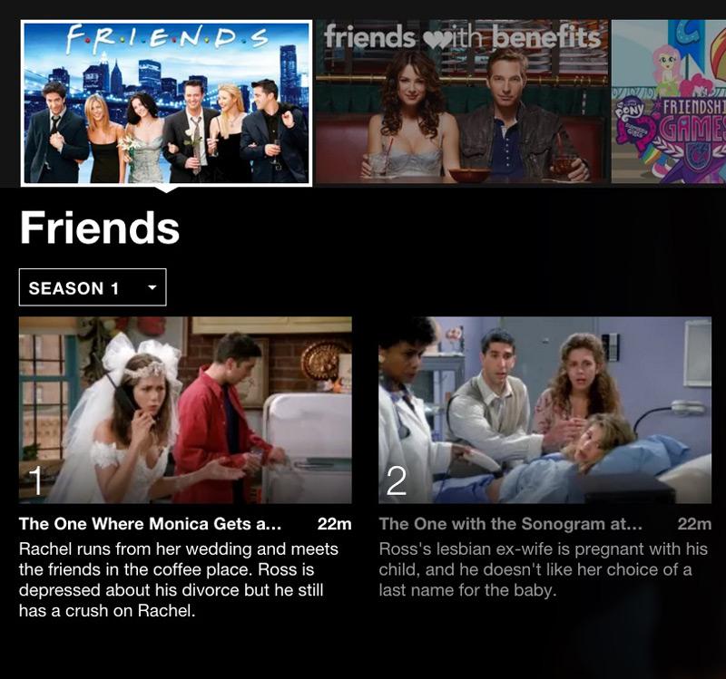 Friends Netflix binging shows to watch for tween girls #streamteam