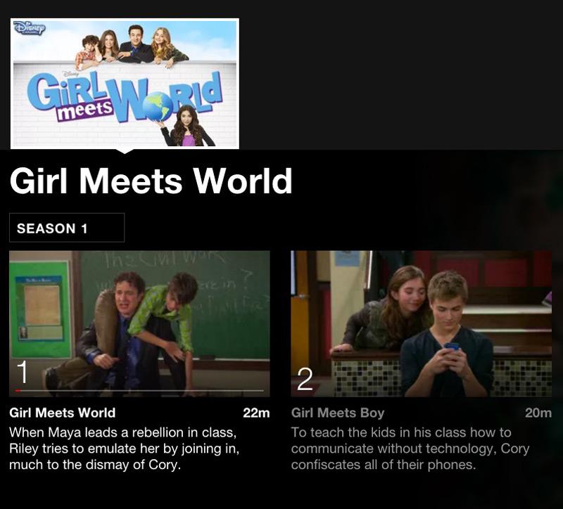 Girl Meets World Netflix binging for tween girls #streamteam