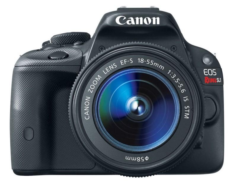 Canon EOS Rebel SL1 DSLR camera; tech gift guide
