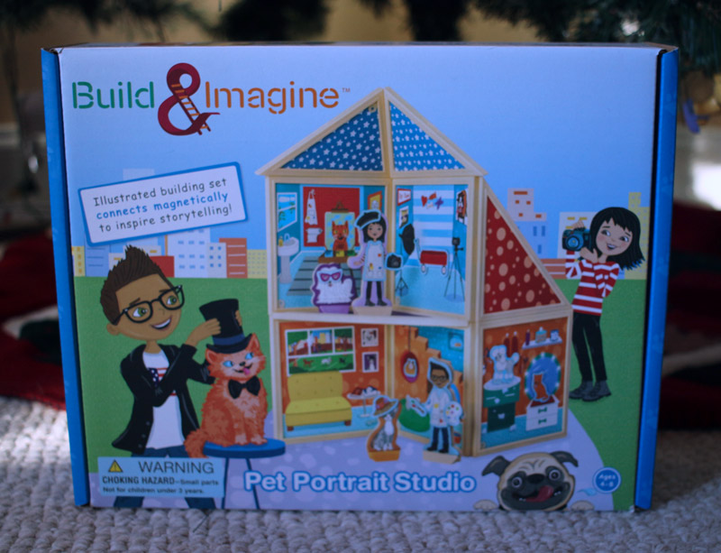 Build & Imagine STEM toy; tech gift guide