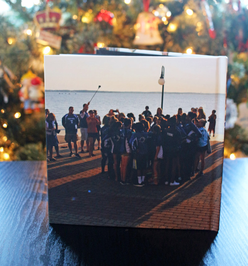Create your own gorgeous album with Canon's hdAlbum premium album service. Download the photo creation software and create your album. It is uploaded and printed on Canon's DreamLabo 5000 printer (high-quality production photo printer.) The results are beautiful. Great for gifts too!