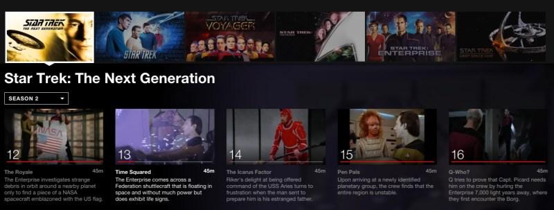 Star Trek; 5 Binge worthy shows on Netflix for College Students #StreamTeam