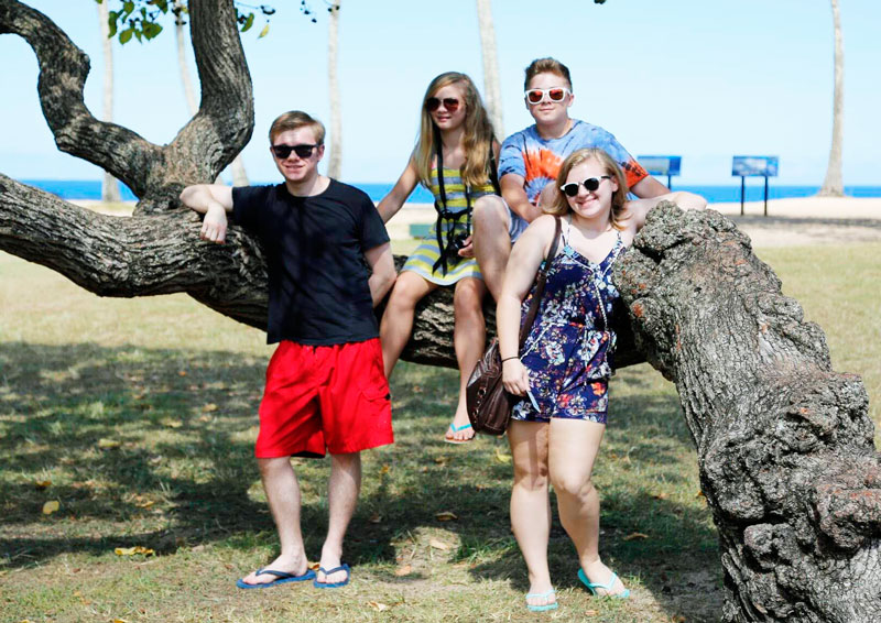 McGraw Big Family on vacation #MyBigFatGreekWedding2