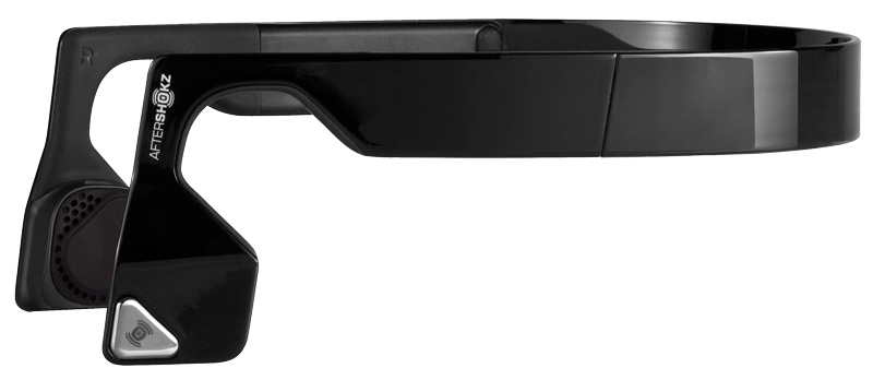 AfterShokz Bluez 2S wireless bone conduction headphones; safe for running; #BeOpen
