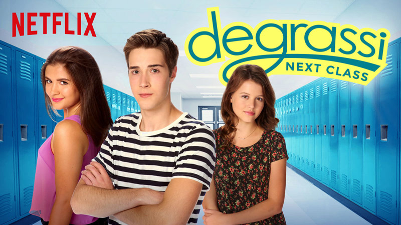 Degrassi Next Class on Netflix Episode #101: #BootyCall to open discussion with teens about Body Image #StreamTeam